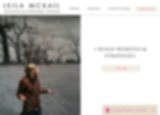 Leila McKail Website Business and Person