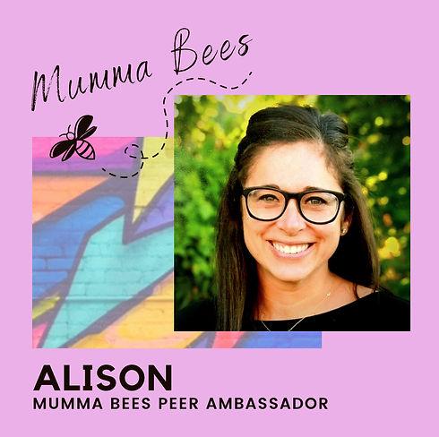 Alison - Mumma Bees Ambassadors - Stefan