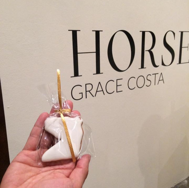Horse cookie-photo by Grace Costa Photographer.
