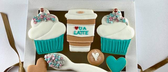 Latte Cookies set