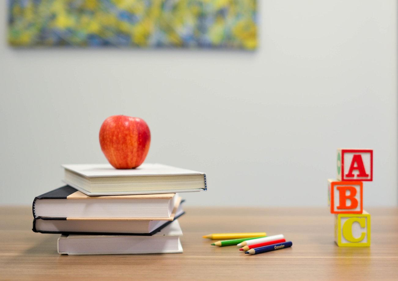 Pädagogisches Material: Lehrbücher.  Der Schwedisch Unterricht ist zur Zeit auch Digital und Online.