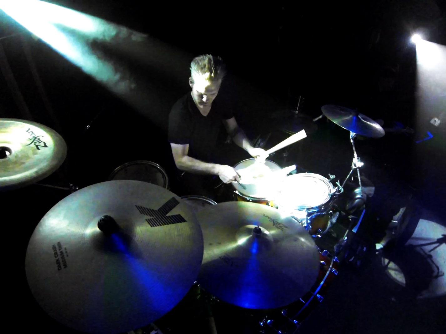 Josh Daubin Spotlight Drummer
