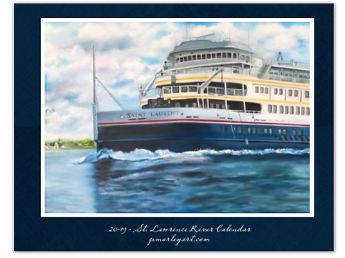 2019 St. Lawrence River Calendar