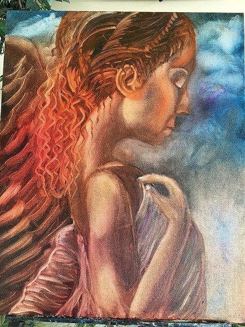 Goddess of Red Hair Original