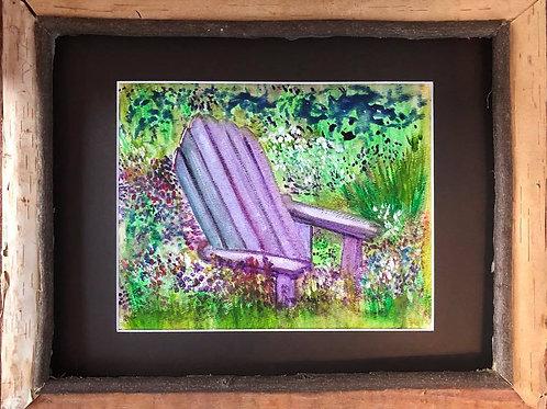 """Lavender in the Adirondacks"""