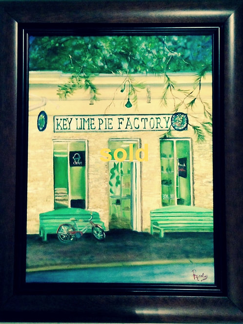 Key Lime Pie Factory SOLD -available in print