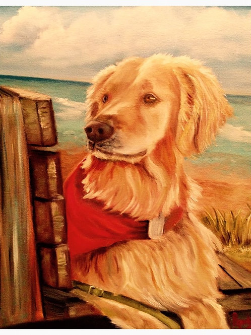 Guarding the Sea 8 x 10