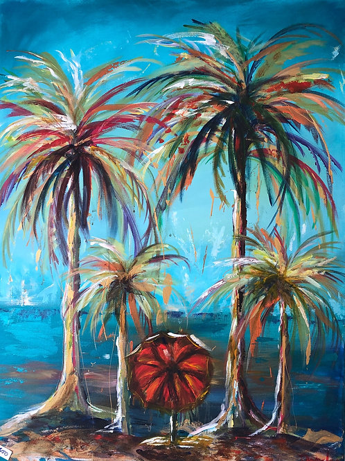 Deserted Island -acrylic