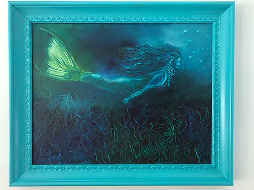 Alana the Mermaid 22 x 28