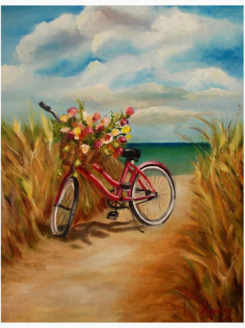 """Beach Break"" 11 x 14"