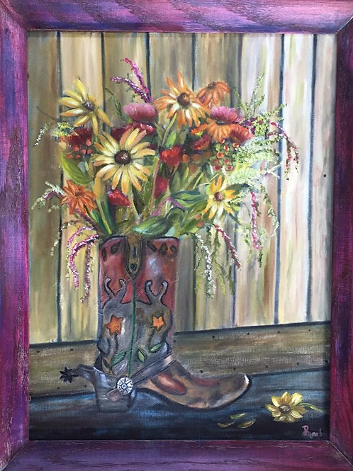 Cowgirl Bouquet - 8 x 10 print