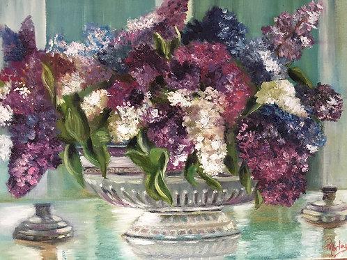 Lilac 11 x 14 print