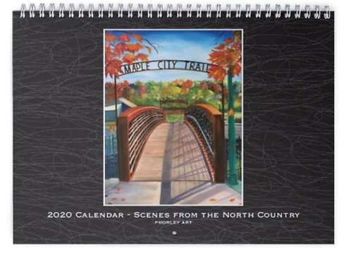 2020 North Country Calendar
