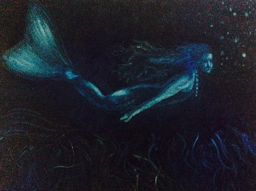 Mermaid - SOLD (available in print)