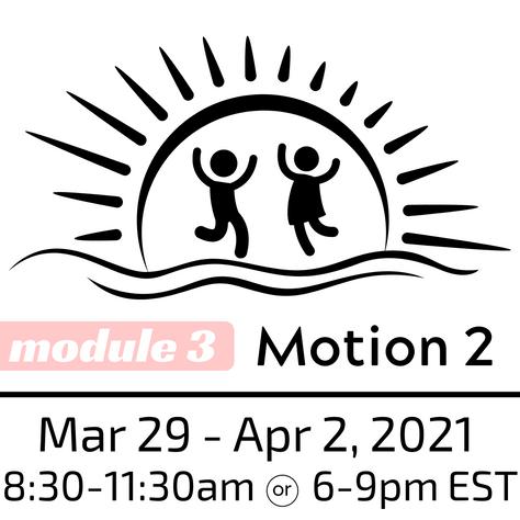ASP Motion 2 Workshop, March 29-April 2, 2021