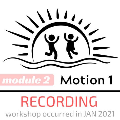 ASP Motion 1 Module 2 Recording