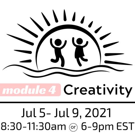 ASP Creativity Workshop, July 5 - July 9, 2021