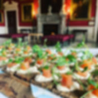London canapes catering