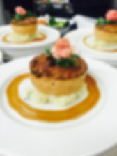 Pie and mash catering