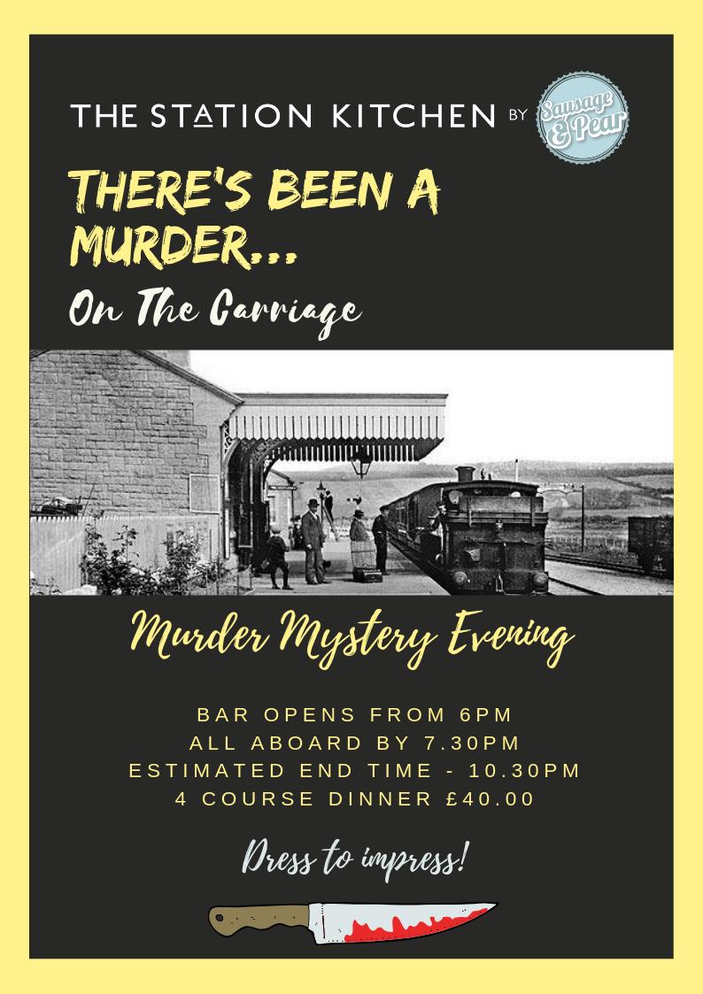Station Kitchen murder mystery nights
