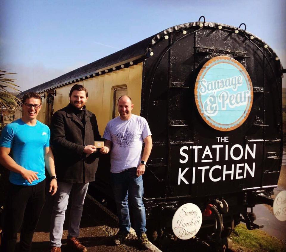 Luke Hayter Fitness at the Station Kitchen