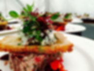 Event food at a dorset catering event