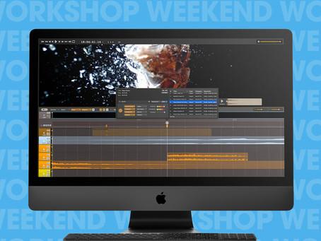 MusicTech - Weekend Workshop: Sync sound design to video with Audio Design Desk Create