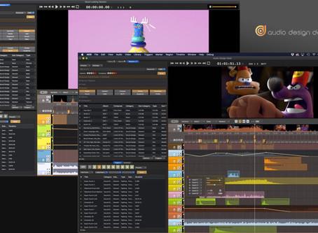 """Cinema5D - """"Audio Design Desk – Free Version and Update V1.2 Released"""""""