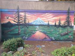Mt.Hood Milwaukie Mural
