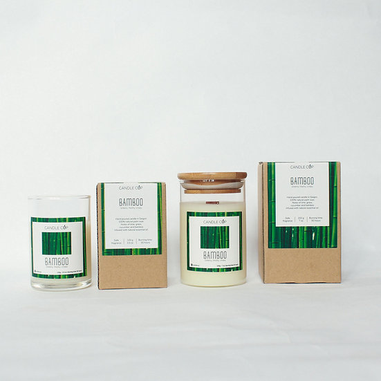 Nến thơm thiên nhiên - Bamboo - Candle Cup