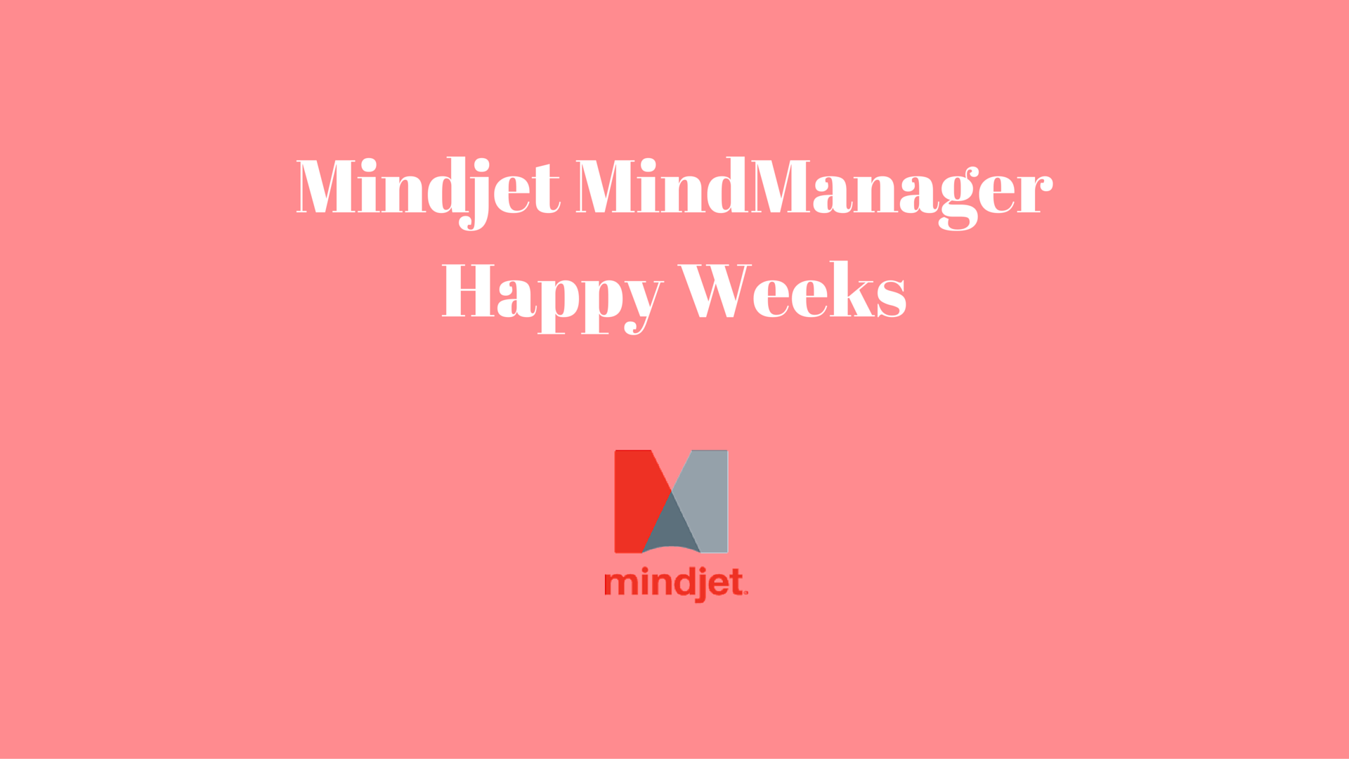 Mindjet MindManager Happy Weeks