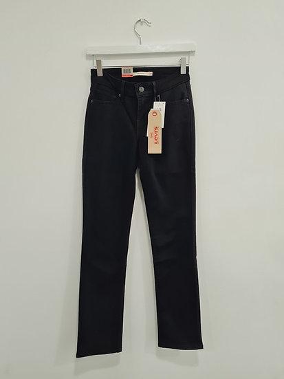 Jeans LEVIS 714 STRAIGHT NOIR