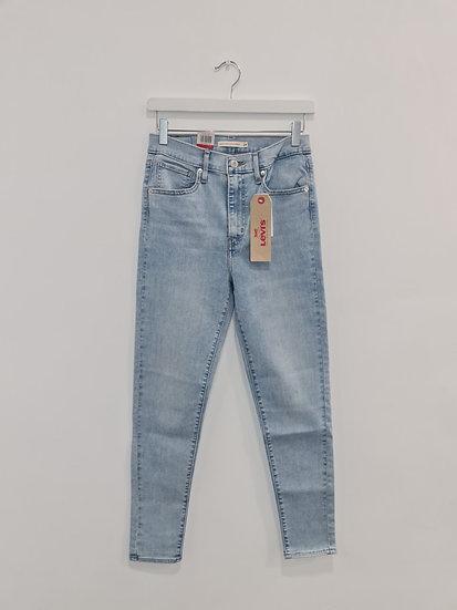 Jeans LEVIS MILE HIGH SUPER SKINNY Bleu clair
