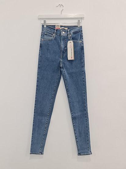 Jeans LEVIS MILE HIGH SUPER SKINNY Bleu denim
