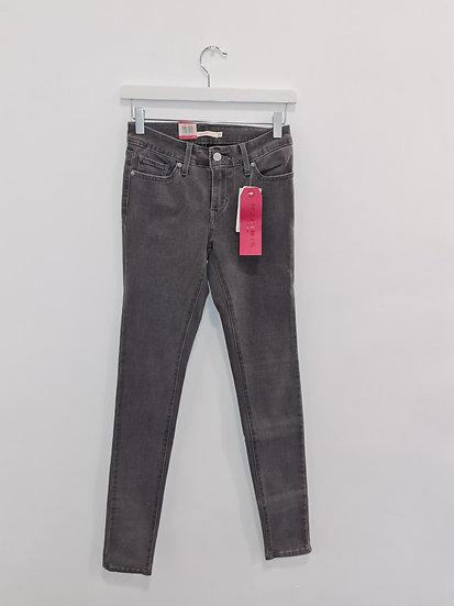 Jeans LEVIS 711 SKINNY Gris