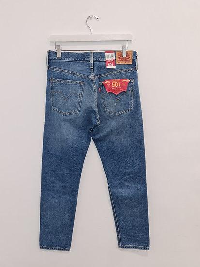 Jeans LEVIS 501 Bleu déchiré