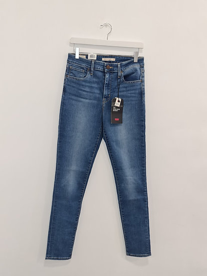 Jeans LEVIS 721 HIGH RISE SKINNY Bleu denim