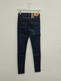 Jeans LEVIS 710 SUPER SKINNY bleu marine