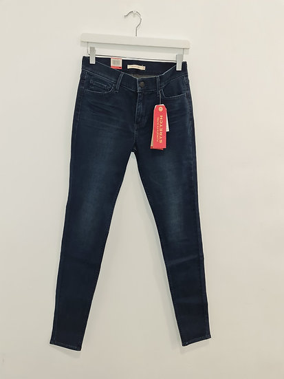 Jeans LEVIS 710 SUPER SKINNY Bleu foncé