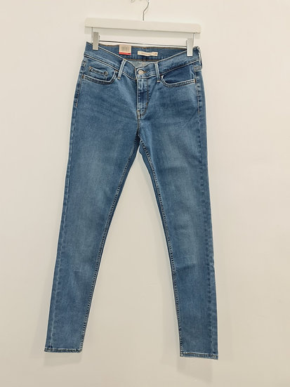 Jeans LEVIS 710 SUPER SKINNY
