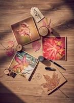 Grußkarten mit Herbstmotiven