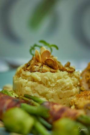 Kartoffel-Mandel-Püree