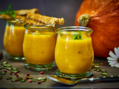 Kürbis-Karottensuppe