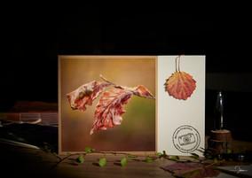 Grußkarte mit Herbstmotiv