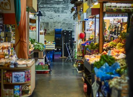 Ein kleines Paradies die Kleinmarkthalle in Frankfurt