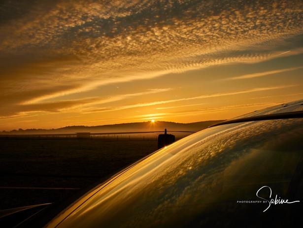 Imposanter Sonnenaufgang