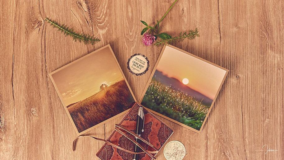 Fotografie Grußkarten mit Umschlag