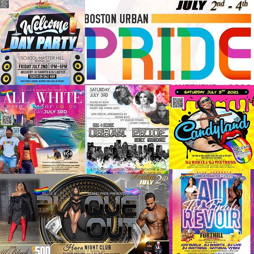Boston Urban Pride 2021