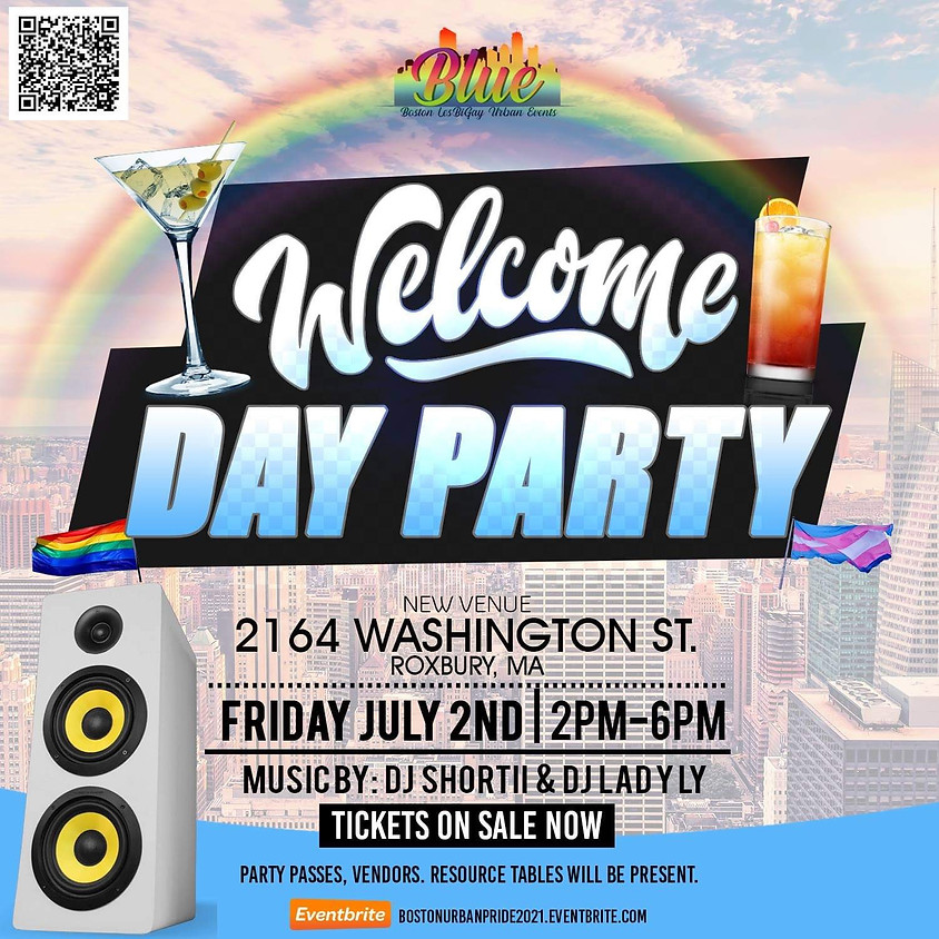 Welcome to urban pride Day Party