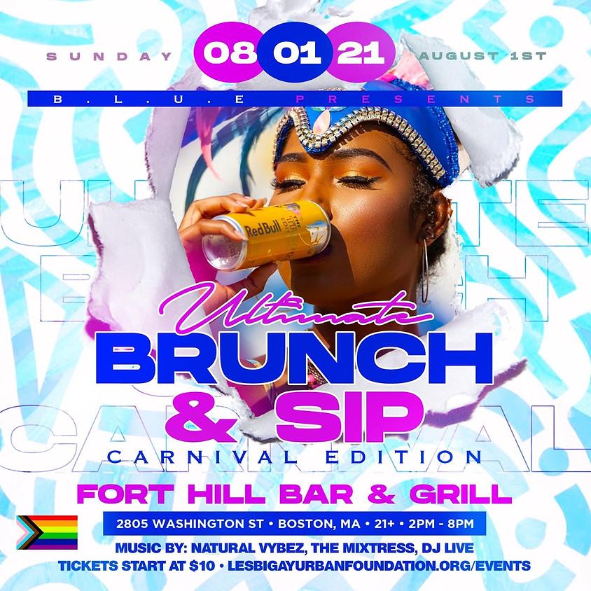 Ultimate Brunch & Sip carnival edition